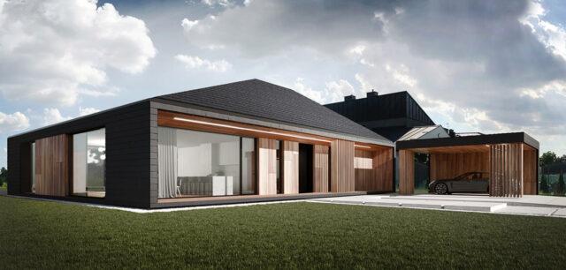 Klasyczny dom w nowoczesnym wydaniu projektu REFORM Architekci