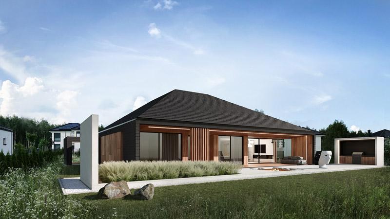 Dom RE: VOLCANO HOUSE. Projekt:REFORM Architekt   Marcin Tomaszewski