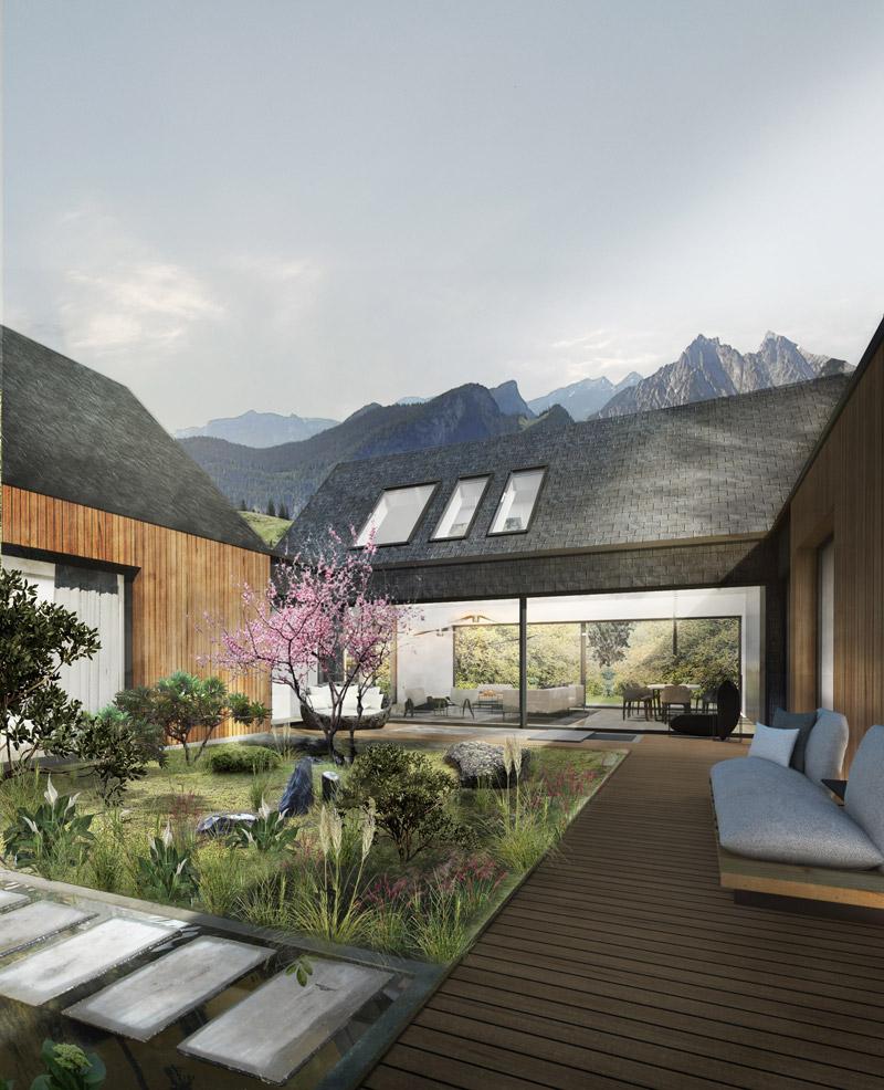 Dom japoński. Projekt:Libido Architekci