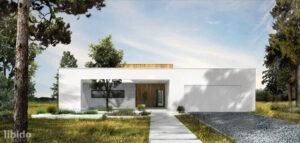 Dom podłużny pracowni Libido Architekci