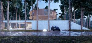 Zbyt lekki, by dotknąć ziemi. Tree House – najnowszy projekt Mobius Architekci!