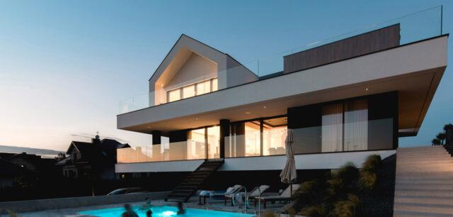 Slab House: niezwykły dom na wzgórzu pracowni mode:lina™