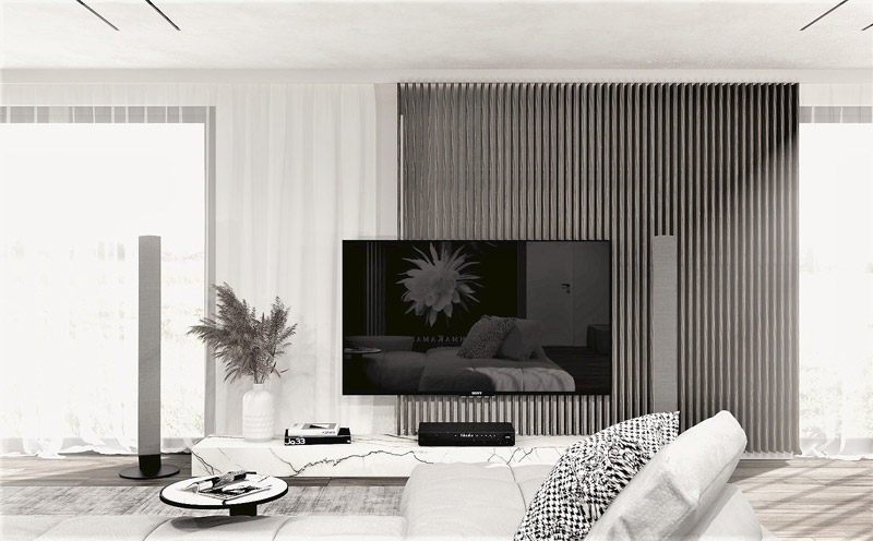 Dom w Gryfinie. Projekt wnętrza: ReDesign | Hanna Olejniczak