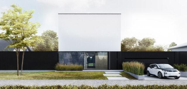 Dom za Ścianą projektu STOPROCENT Architekci