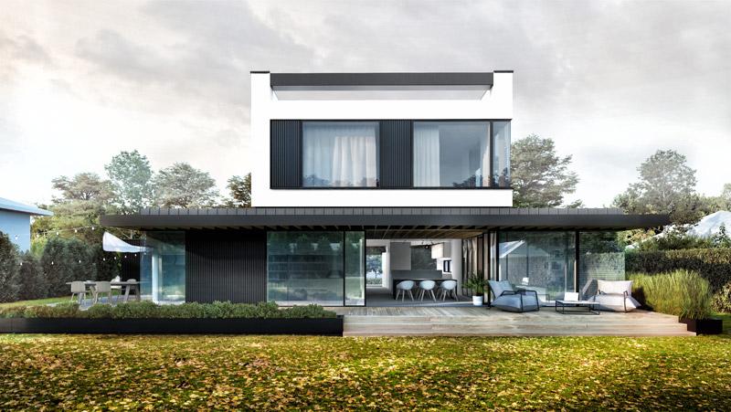 Dom za Ścianą. Projekt:STOPROCENT Architekci s.c.