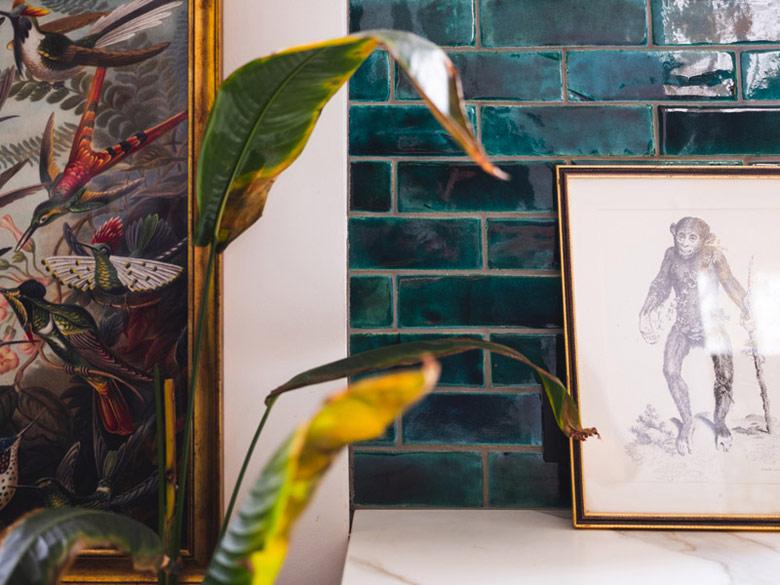 Kawalerka w stylu eklektycznym. Projekt wnętrz: Barbara Godawska | iHome Studio. Zdjęcia: Przemysław Kuciński