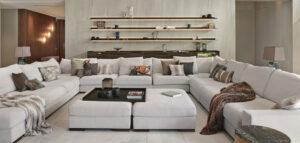 Dom zatopiony w przyrodzie i nowoczesne, eleganckie wnętrza