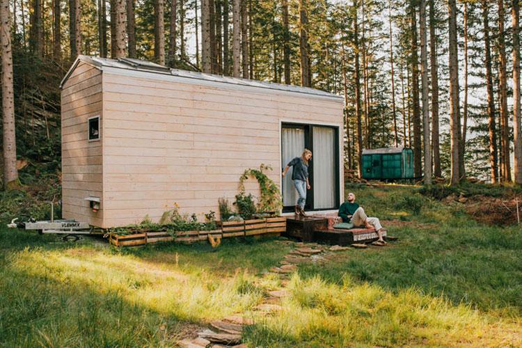 Projekt Dacza - mobilny dom dla minimalistów. Zdjęcia: Magda Tracz