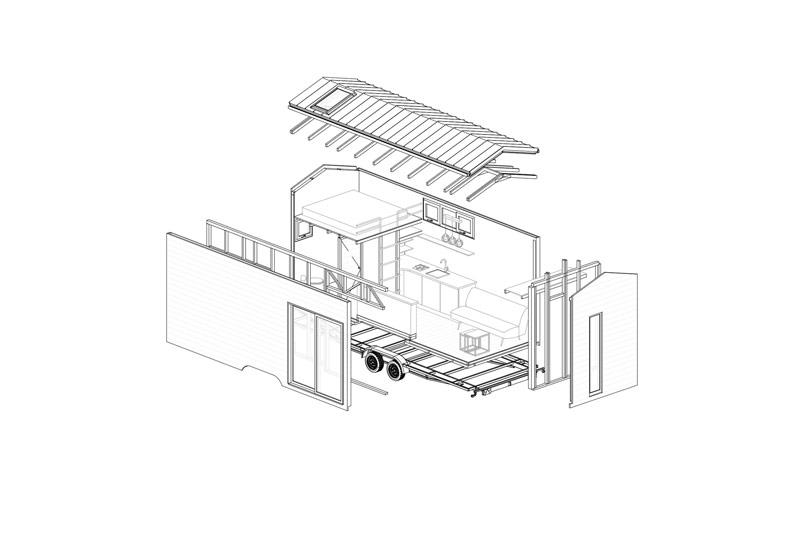 Projekt Dacza - mobilny dom dla minimalistów