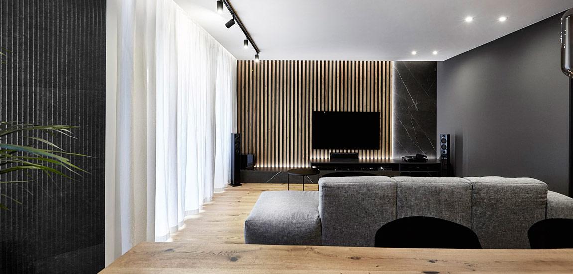 Wyraziste wnętrza łódzkiego mieszkania projektu mess architects