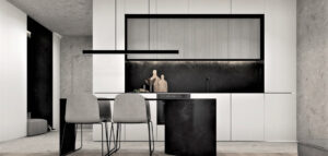 Stonowane wnętrza apartamentu projektu studia ReDesign