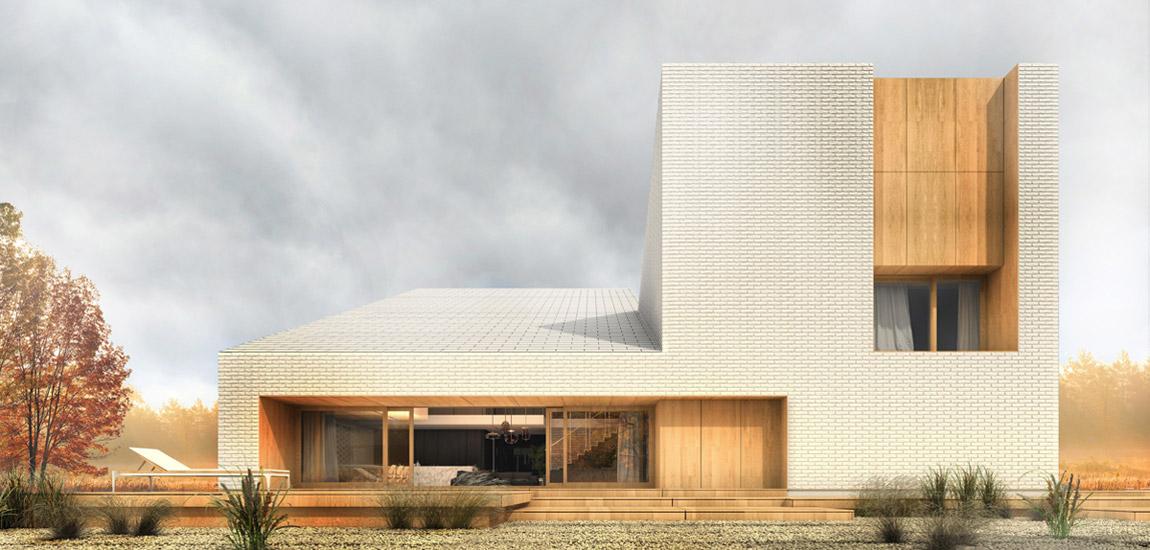 Dom jednorodzinny pod Gdańskiem. Projekt: sayos.architects | Łukasz Gromadziński
