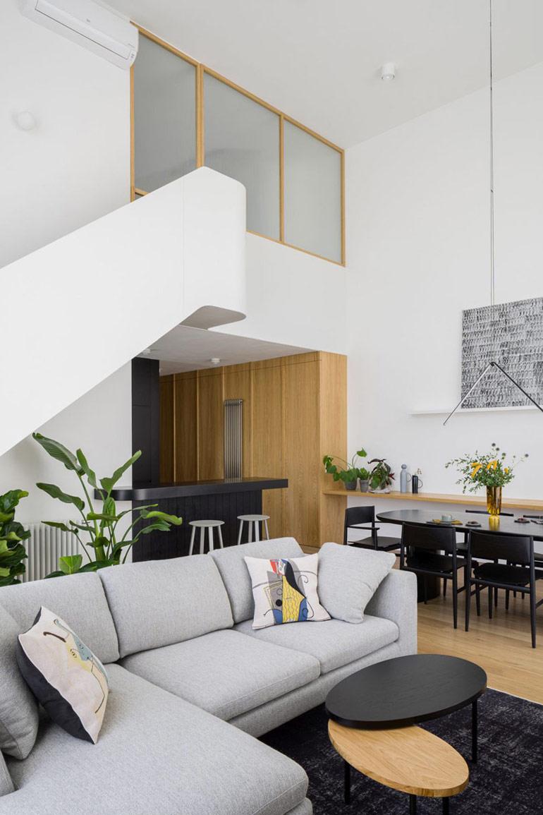 Apartament w Łodzi. Projekt wnętrz:3XEL Architekci. Zdjęcia:Dariusz Jarząbek