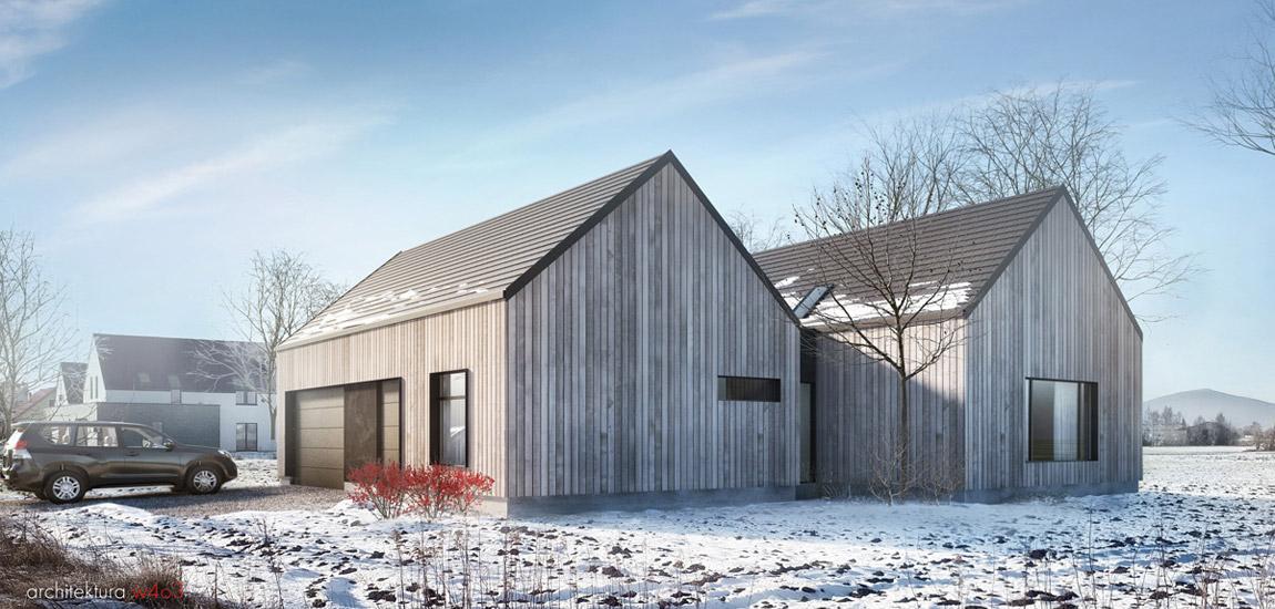 Dom na wsi. Projekt: Ewa Bryniak | Architektura w403