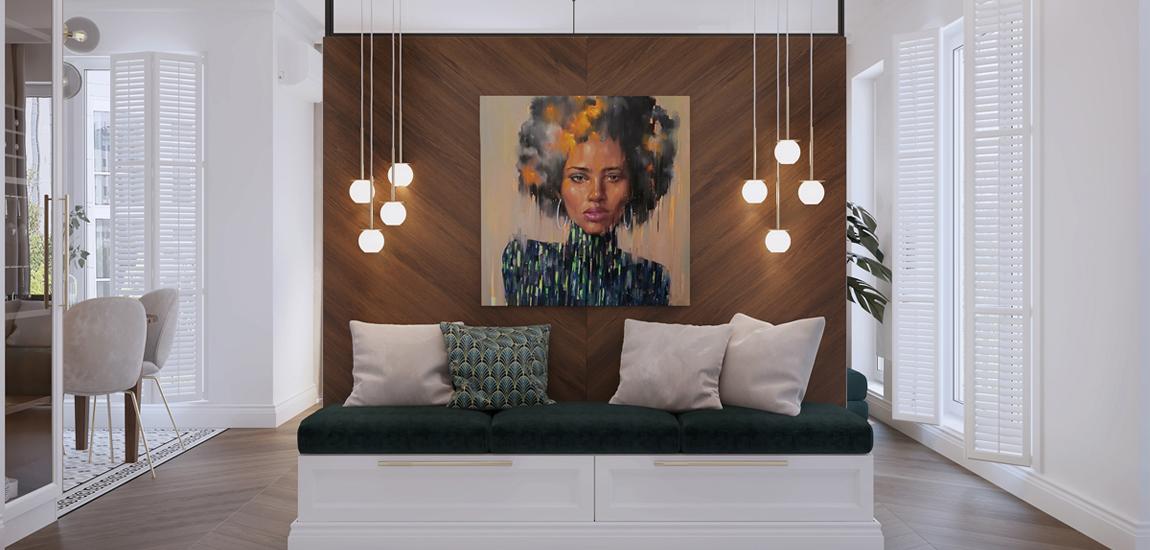 Niezwykły apartament nawiązujący do stylu Art Deco projektu Hedo Architects