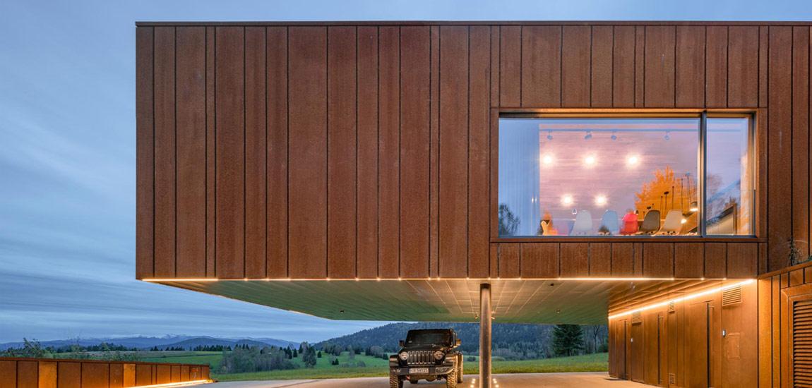 Leśniczówka w Bieszczadach. Niezwykły dom projektu Medusa Group