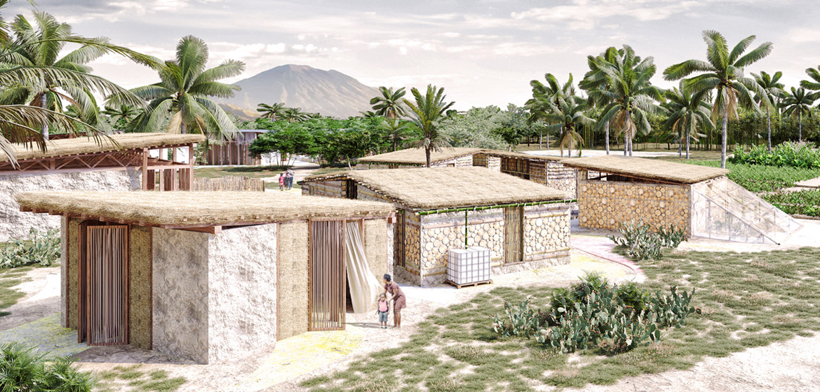 Dyplomy Architektury: Architektura w obliczu katastrof. Zespół szkolny na Haiti projektu Agnieszki Chudy