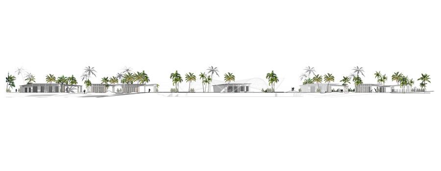 Architektura w obliczu katastrof. Modelowe kształtowanie zabudowy wiejskiego zespołu szkolnego na Haiti. Autor: Agnieszka Chudy