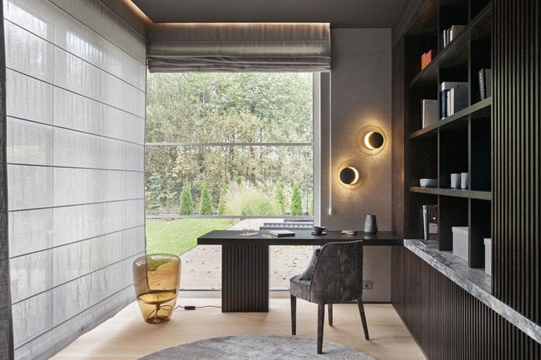 Wnętrza domu na obrzeżach miasta. Projekt:Katarzyna Kraszewska Architektura Wnętrz. Zdjęcia:Tom Kurek