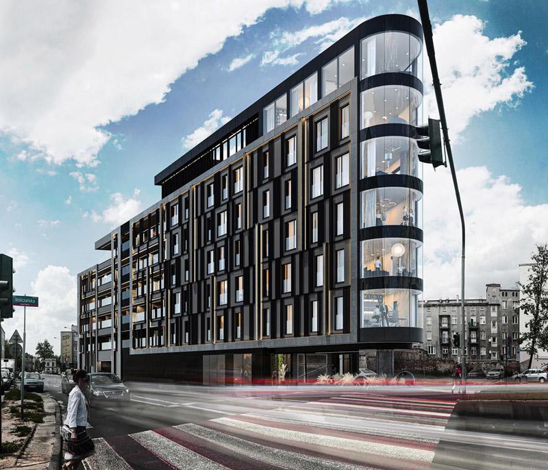 Apartamentowiec NEW IRON w Łodzi. Projekt:REFORM Architekt | Marcin Tomaszewski