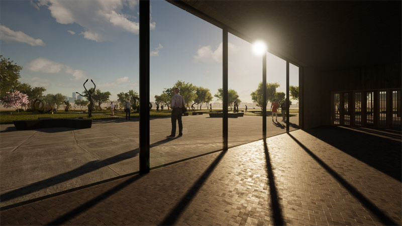 Dyplomy Architektury: Galeria Sztuki w Rzeszowie projektu Anny Kukulskiej