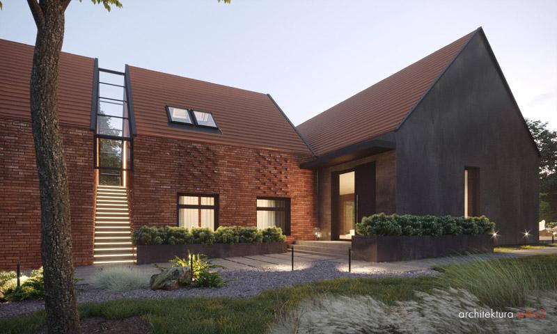 Dom 21. Projekt:Ewa Bryniak | Architektura w403