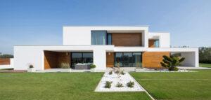 Dom z wnękami pracowni RS+ Robert Skitek