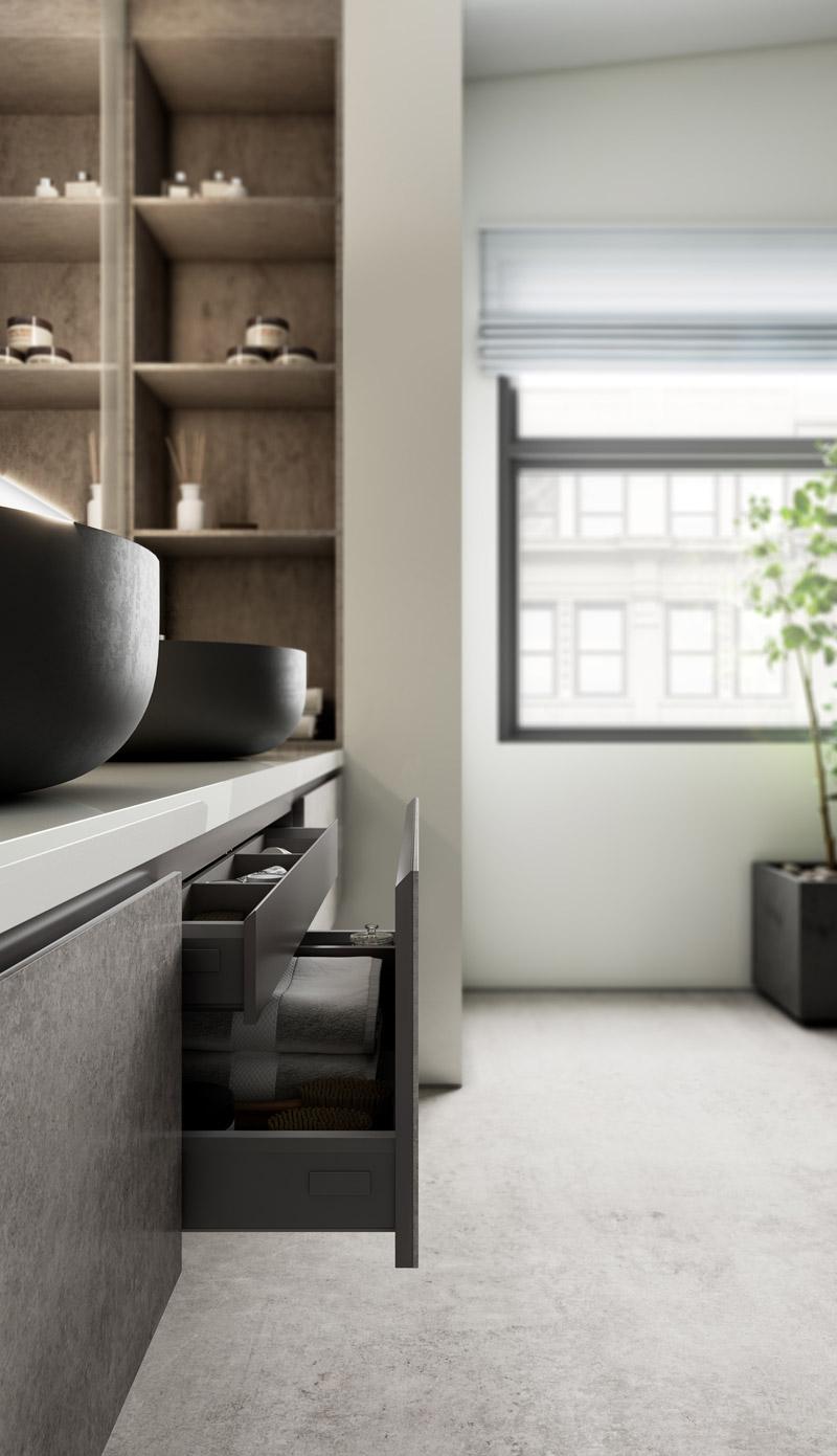 Kuchnia i łazienka według Cosentino