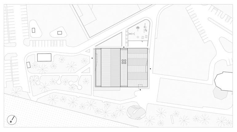 Dom Weselny w Woli Chorzelowskiej. Projekt: MEEKO Architekci