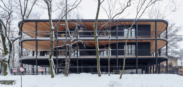 Apartamentowiec Villa Reden w Chorzowie