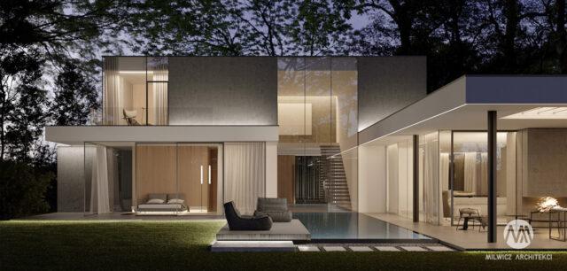 Zjawiskowy dom na skraju puszczy pracowni Milwicz Architekci