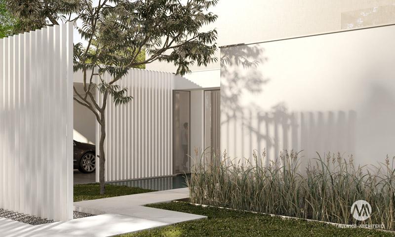 Dom na skraju puszczy. Projekt:Milwicz Architekci