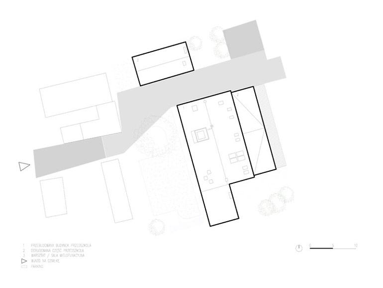 Przedszkole w Opolu / Malinie. Autorzy projektu:PORT
