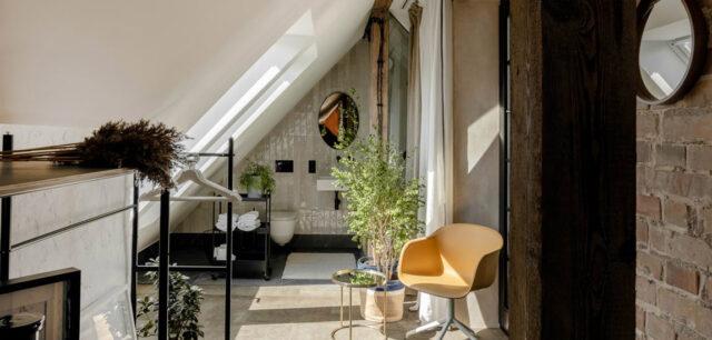 Mieszkanie z duszą i niezwykłym klimatem. Wnętrza poddasza projektu Modoso Interiors