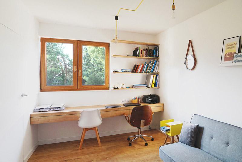 Wnętrza domu w Brzozowie. Dom jednorodzinny w Brzozowie. Projekt:MOJO pracownia projektowa. Zdjęcia:Anna Nachowska