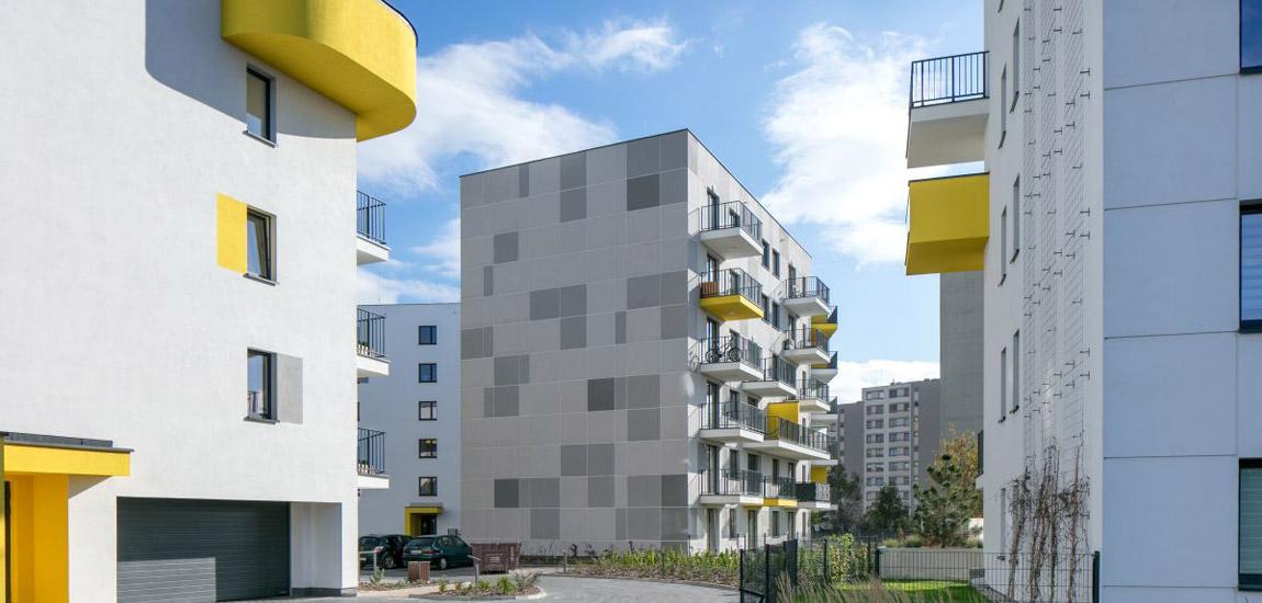 Osiedle Morelowa w Warszawie. Projekt:Kulczyński Architekt. Zdjęcia:Piotr Krajewski