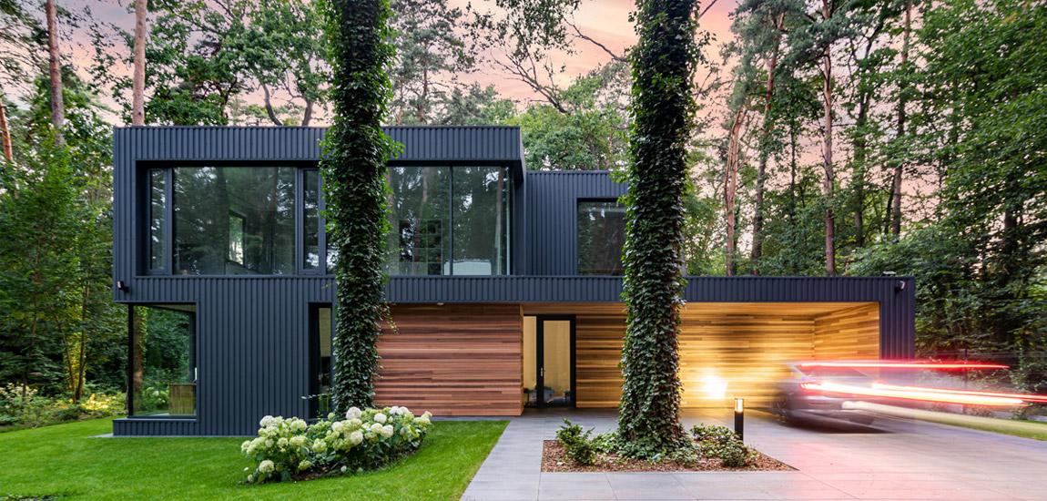 Dom Wtopiony w Las pracowni Z3Z Architekci