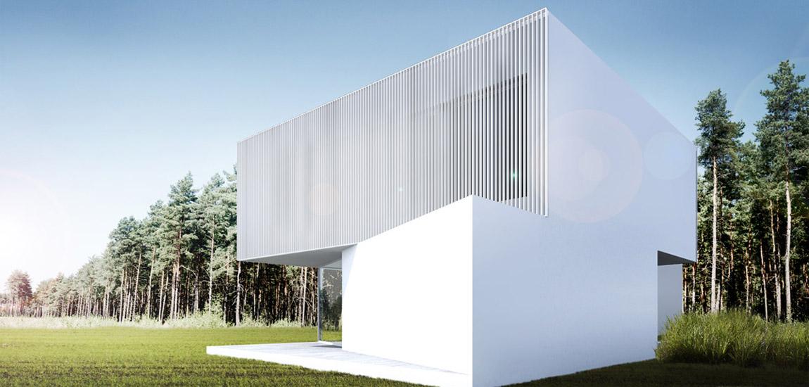 Dom Wkręcony pracowni ANTA Architekci
