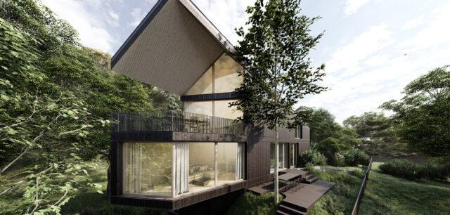 Bliskość przyrody i naturalne piękno. Niezwykły dom rekreacyjny nad jeziorem Ślesińskim