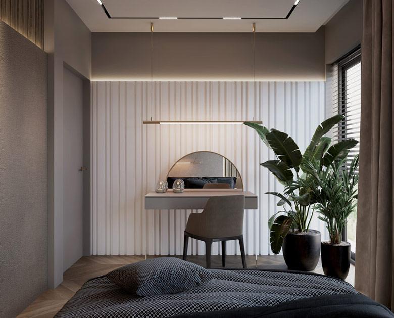 Wnętrza domu w Żywcu. Projekt:Hedo Architects