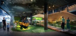 Tak będzie wyglądać wystawa w nowym muzeum w Łebie projektu plus3-architekci!