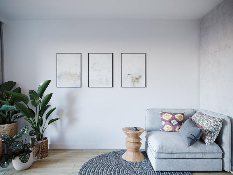 Wnętrza mieszkania w Poznaniu. Projekt: YONO ARCHITECTURE | Sebastian Marach + MAST. studio - Maria Trojnara, Joanna Stawiak