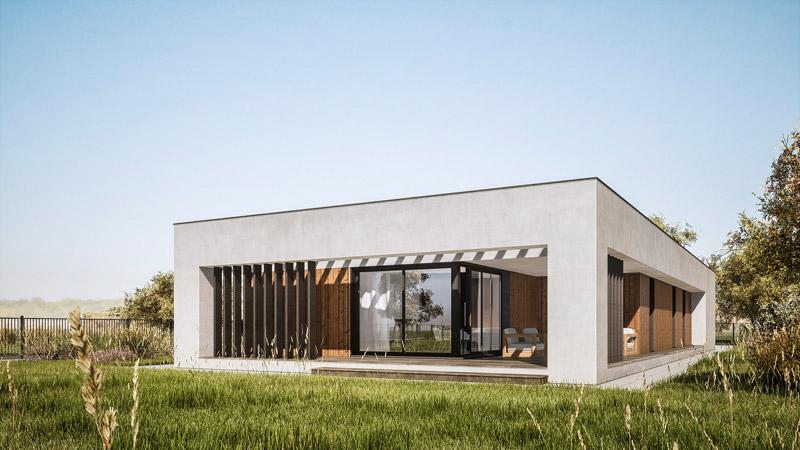 """""""Dom ziemisty"""" pod Mielcem. Projekt:MEEKO Architekci"""