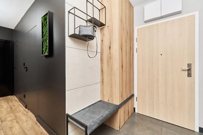 Apartament we Wrocławiu. Projekt:architekt wnętrz Monika Staniec. Zdjęcia:Wojciech Dziadosz