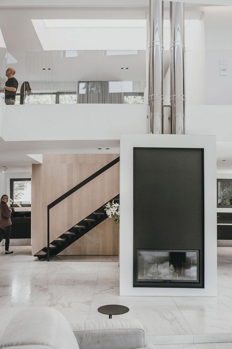 Remont wnętrza 30-letniego domu. Projekt: MMOA. Zdjęcia: Janina Tyńska