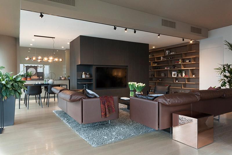 Luksusowy apartament w budynku Cosmopolitan. Projekt: de novo. Zdjęcia: Kinga Wysocka, de novo