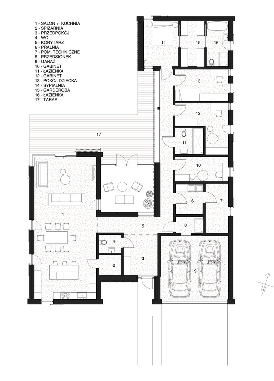 Dom pod Gdańskiem - wiejska stodoła w nowym wydaniu. Projekt: DG Architekci
