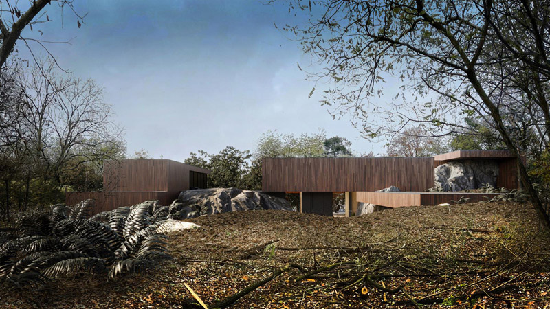 "Dom ""RE: ON THE ROCK HOUSE"". Projekt:REFORM Architekt | Marcin Tomaszewski"