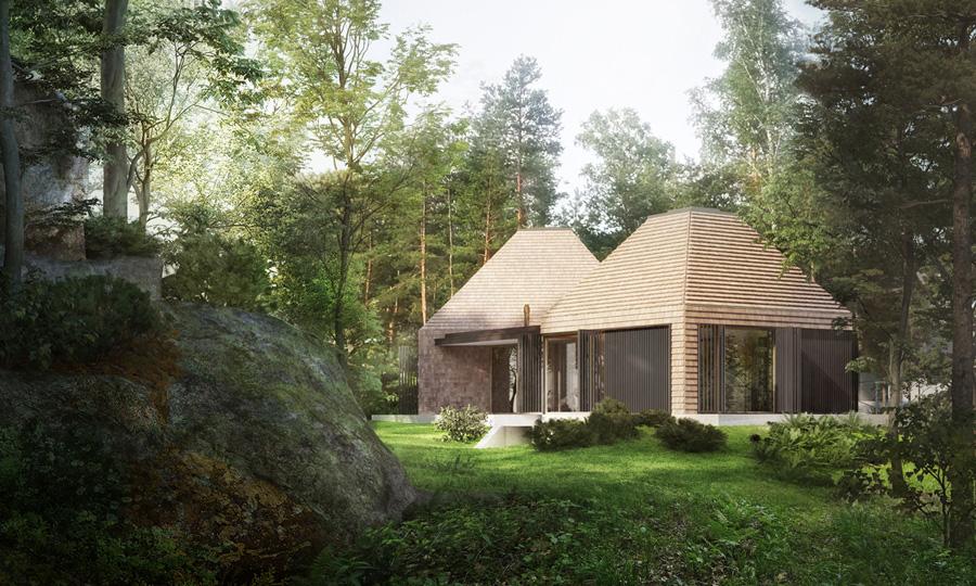 Dom w Karkonoszach / House by the ROCK. Projekt:STOPROCENT Architekci