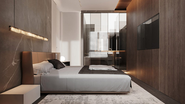 Przytulny i stylowe apartament w Warszawie. Projekt wnętrz:hilight.design